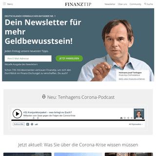 Deutschlands Verbraucher-Ratgeber Nr. 1 - Finanztip