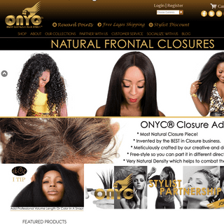 No.1 Hair Extensions Nigeria Store That Offers The Most Natural Hair Weaves - ONYC® Hair Nigeria