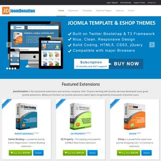 Joomla Extensions by Joomdonation - Joomla Extensions by Joomdonation