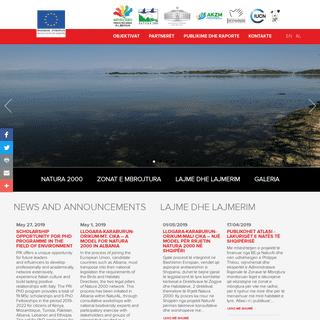 NATURA 2000 Zonat e Mbrojtura në Shqipëri