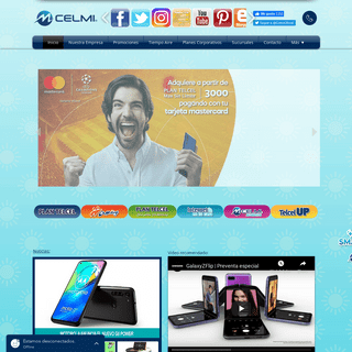 ArchiveBay.com - celularmilenium.com - CELMI - Pachuca - Telcel