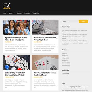 Situs Media Terbaik Informasi Judi Bola Poker Online Terbaru