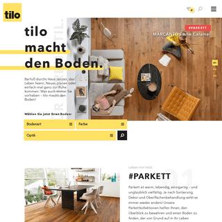 tilo macht den Boden - Qualität aus Österreich