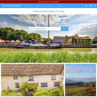 ArchiveBay.com - coolplaces.co.uk - The best places to stay in the UK from Cool Places