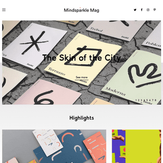 Mindsparkle Mag – High quality designblog highlighting the best of beautiful Design, Website and Video Projects