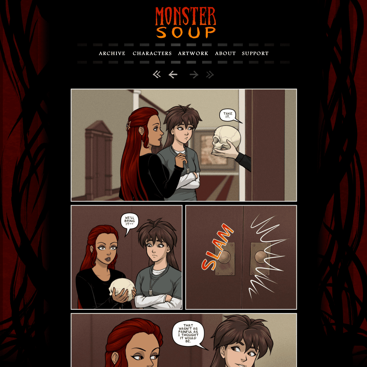 Monster Soup » A comic of devious deliciousness.