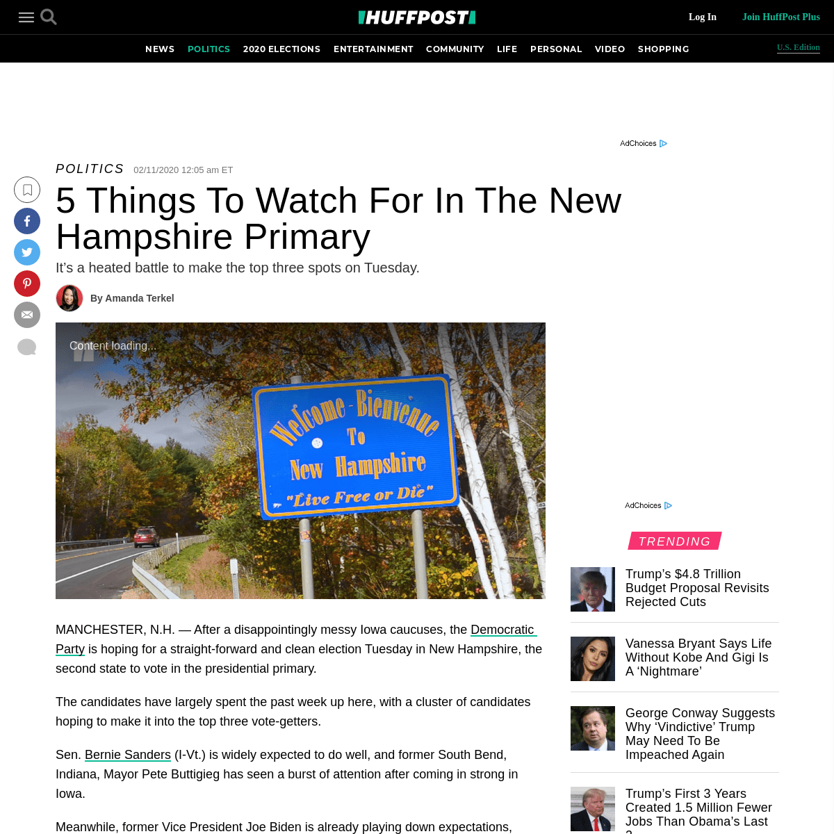 ArchiveBay.com - www.huffpost.com/entry/new-hampshire-primary_n_5e41c957c5b6bb0ffc16ea49 - 5 Things To Watch For In The New Hampshire Primary - HuffPost