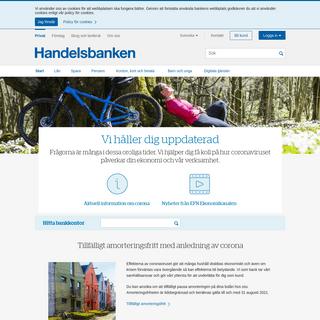 Personlig bankkontakt, lokala beslut - Handelsbanken