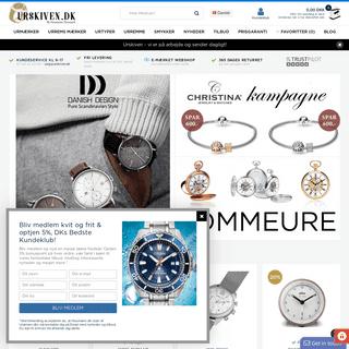 Ure - Eksklusive ure og smykker til damer og herrer - Fri fragt