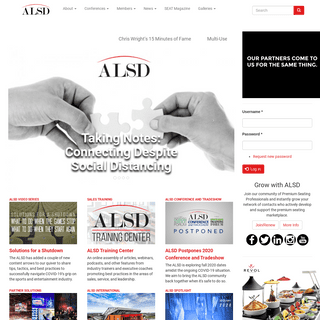 ALSD - The Association of Luxury Suite Directors