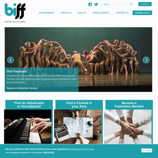 The British and International Federation of Festivals - For Music, Dance and Speech