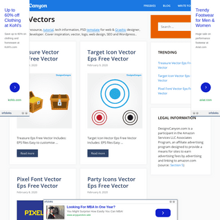 DesignsCanyon - Free Design Resources