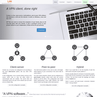 freelan - A VPN client that loves you !