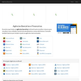 ArchiveBay.com - agenciasbancarias.net - Agências Bancárias - Endereços, Telefones de Bancos e Financeiras