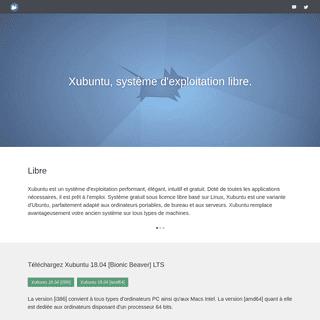 xubuntu.fr-Télécharger Xubuntu
