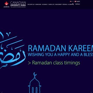 Canadian University Dubai - Your portal to Canadian education