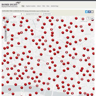 Bomb Sight - Mapping the World War 2 London Blitz Bomb Census