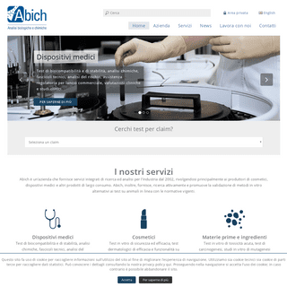 Abich.it - Analisi biologiche e chimiche –