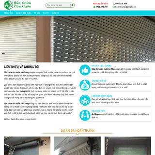 Sửa Chữa Cửa Cuốn An Khang – Sửa chữa cửa cuốn tại nhà, Hà Nội, Dịch vụ uy tín, Điện Tử An Kha