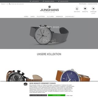 Junghans Onlineshop