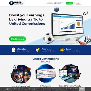 United Commissions - Bingo, Casino & Sports Affiliate Programme