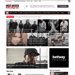 Home – Music Mayhem Magazine