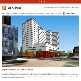 ArchiveBay.com - denverinfill.com - DenverInfill Blog – News and information about urban infill development in the Mile High City