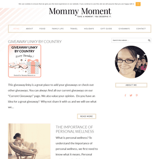 Mommy Moment - TAKE A MOMENT. YOU DESERVE IT.