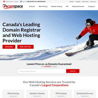 CanSpace Solutions - Canada's Best Web Hosting and Domain Name Provider