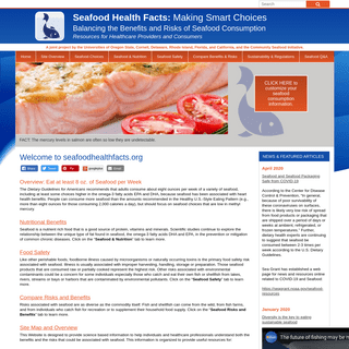 Seafood Health Facts - Making Smart Choices