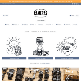 West Yorkshire Cameras - The Proper Camera Shop