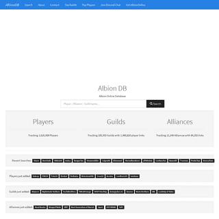 AlbionDB - Albion Online Database