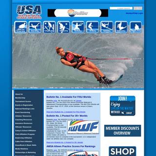 Welcome to USA Water Ski