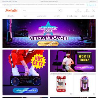 Famtastic - eShop- szórakoztató elektronika, DJ felszerelés, hangtechnika, audio HiFi, TV és autó HiFi előnyős áron