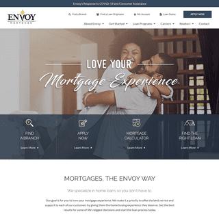 Home Loans & Mortgage Lending - Envoy Mortgage