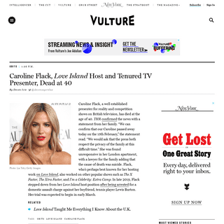 ArchiveBay.com - www.vulture.com/2020/02/caroline-flack-love-island-host-dead-at-40.html - Caroline Flack, Love Island Host, Dead at 40