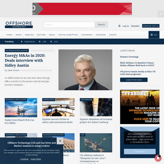 Offshore Technology - Oil and Gas News and Market Analysis - Oil and gas news and in-depth feature articles on the biggest offsh