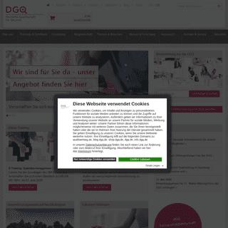 Startseite DGQ - Deutsche Gesellschaft für Qualität