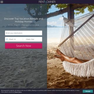 Vacation Rentals & Holiday Homes - RentByOwner.com