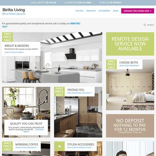 ArchiveBay.com - bettaliving.co.uk - Betta Living - Britain's favourite kitchens, bedrooms & wardobes