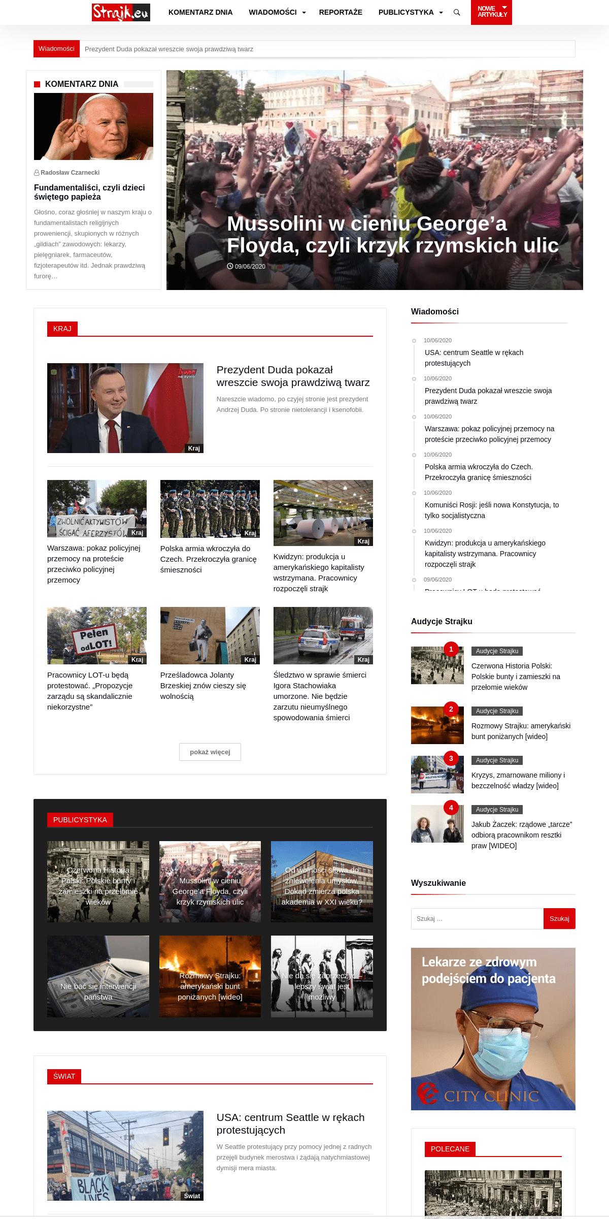 Portal STRAJK