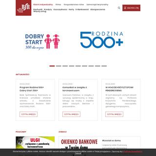 Strona główna - Bank Spółdzielczy Rzemiosła w Krakowie