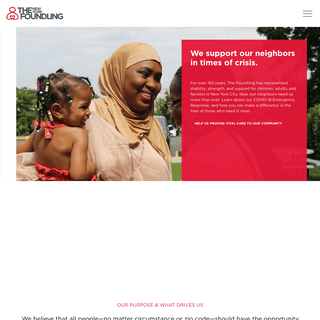 Homepage - The New York Foundling