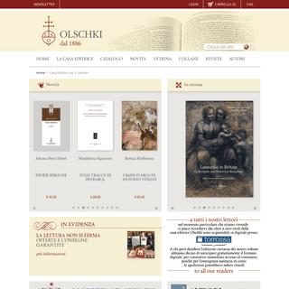 ArchiveBay.com - olschki.it - Casa editrice Olschki- homepage