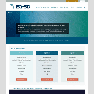 A complete backup of euroqol.org