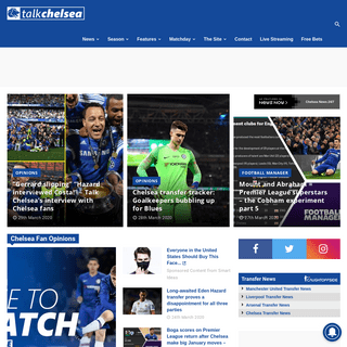 Talk Chelsea - A Chelsea FC Blog for the Latest News, Videos, and Opinion