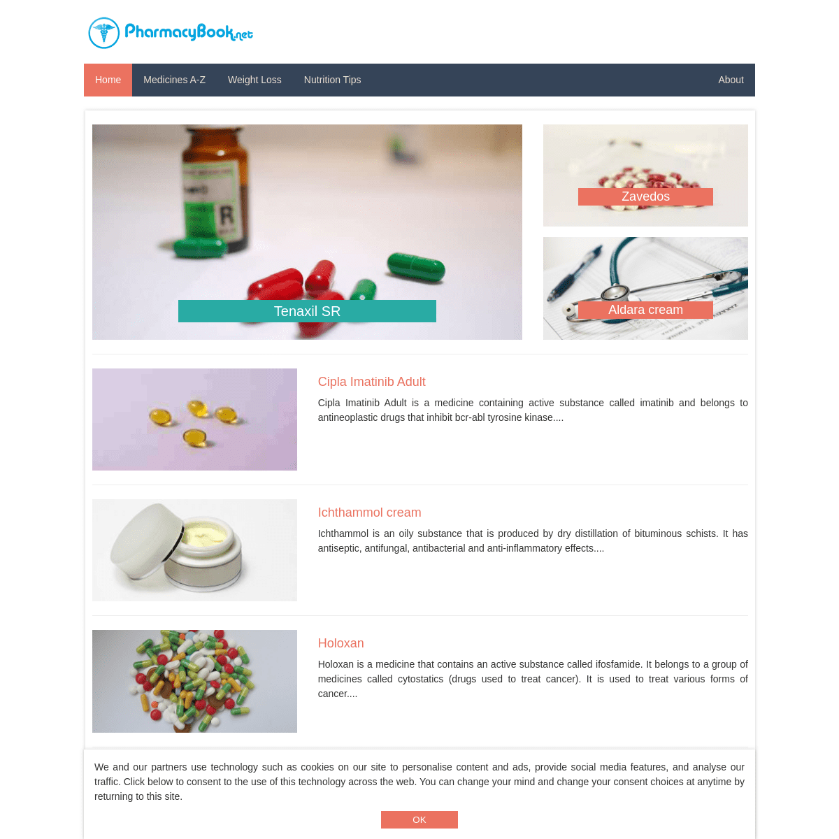ArchiveBay.com - pharmacybook.net - Pharmacybook - drugs information, use, side effects and more