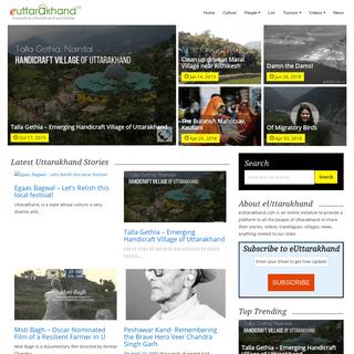Uttarakhand Stories - Connect to Uttarakhand with eUttarakhand and Share Stories - Stories from Uttarakhand