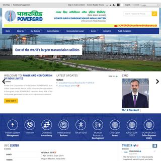 POWERGRID - A Government of India Enterprise - A Maharatna Company