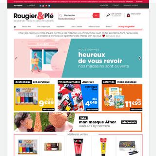 Rougier&Plé Magasin loisirs créatifs, Fourniture scolaire Beaux Arts